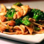 Brócoli con Rigatoni y salchicas
