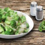 Brócoli con patata cocida