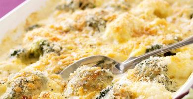Cómo preparar coliflor gratinado