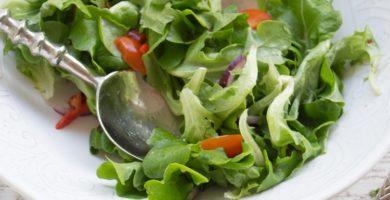 3 ensaladas con lechuga salanova