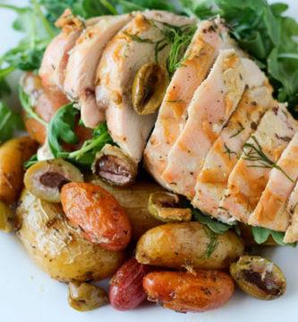 Prepara un exquisito pollo con eneldo