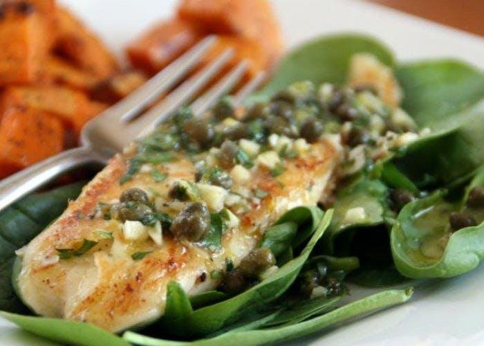 Cómo-preparar-filete-de-pescado-con-acelga