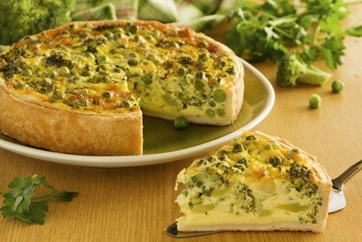cómo hacer tarta de brocoli y queso