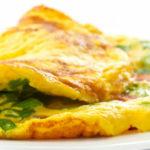 Omelette de acelga y queso